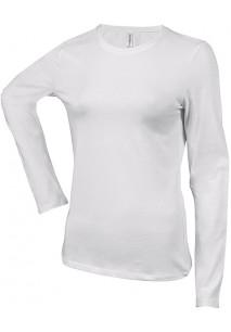 Carla > Ladies' long-sleeved crew neck T-shirt