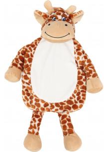Giraffe hot water bottle cover