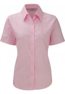 Short-Sleeved Ladies' Oxford Shirt