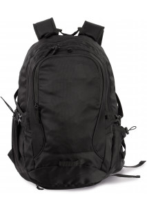 Urban/outdoors backpack with helment mesh