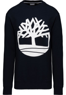 Brand tree crew neck sweatshirt