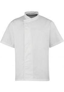 Short-Sleeved Chef's Tunic