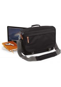 Campus laptop messenger bag