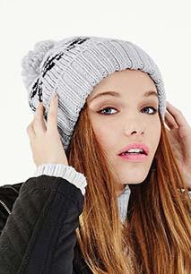 Fair isle snowstar® beanie