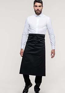 Polycotton extra-long apron