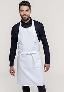 Cotton apron high-temperature washable