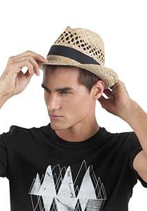 Braided Panama hat