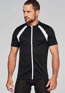 Men's short-sleeved cycling top