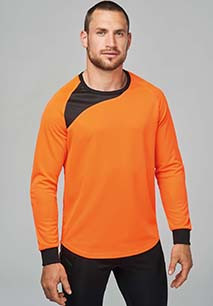 Unisex long-sleeve goalkeeper top