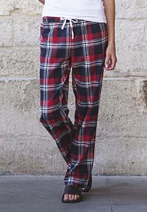 Ladies' tartan lounge trousers