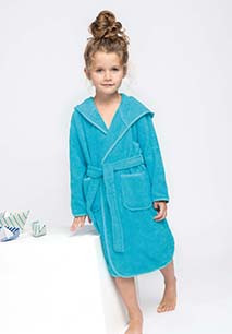 Kids'Terry bathrobe
