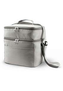 Double compartment cool bag