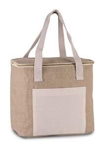 Jute cool bag - medium size