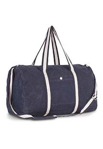Cotton canvas hold-all bag