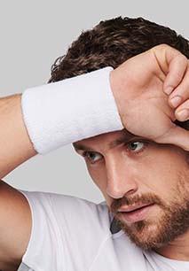 Towelling multisport wristband
