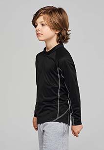 Kids' zip neck running sweatshirt