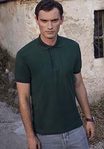 Heavy 65/35 polo shirt