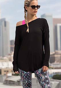Ladies' slounge top