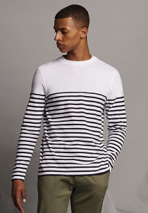 Long sleeve Breton t-shirt