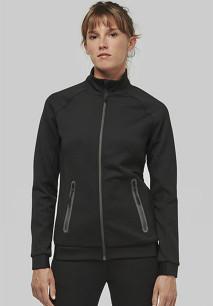 Ladies' high neck jacket