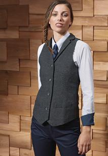 Ladie's Herringbone waistcoat