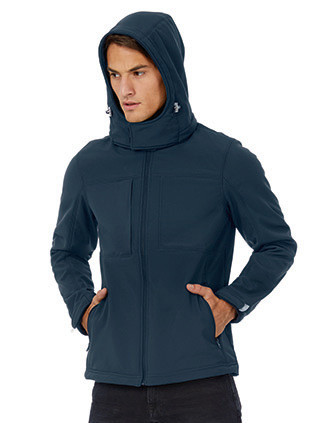 Hooded Men's Softshell Jacket