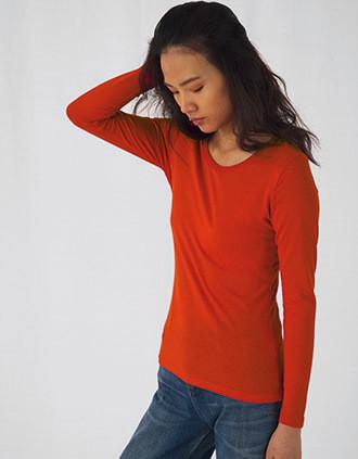 Ladies' organic Inspire long-sleeved T-shirt