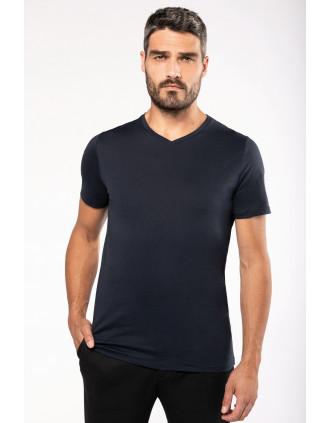 Men's Supima®  V-neck short sleeve t-shirt