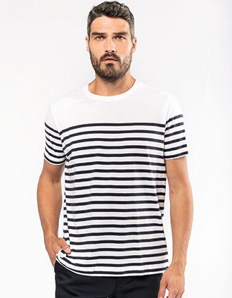 Men's Organic crew neck sailor T-shirt