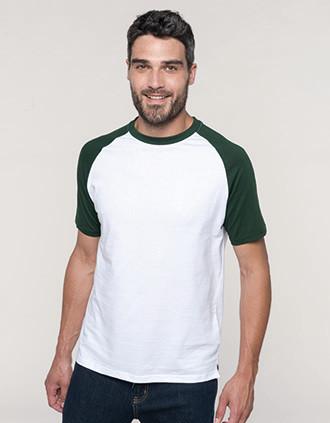 Baseball > Short-sleeved two-tone T-shirt
