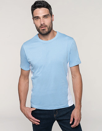 Tiger > Short-sleeved two-tone T-shirt