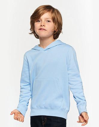 Kids' contrast hooded sweatshirt