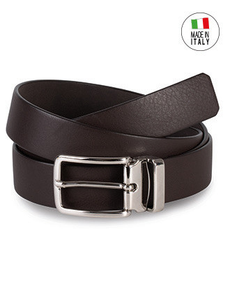 Classic belt in full grain leather - 30 mm