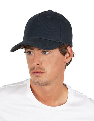 Recycled cotton cap - 5panels