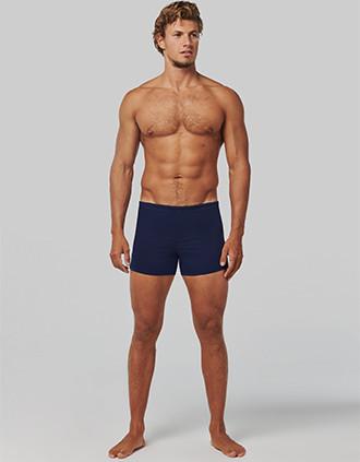 Men's swim boxer trunks