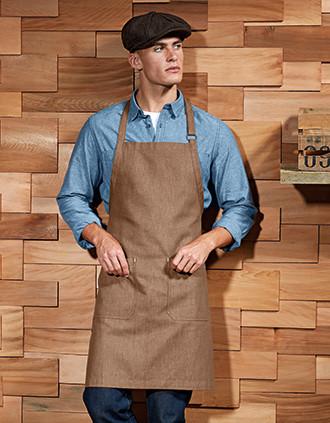 Organic, fair trade denim apron