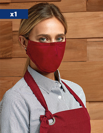 Reusable 3-layer mask - Adjustable cords - AFNOR UNS1