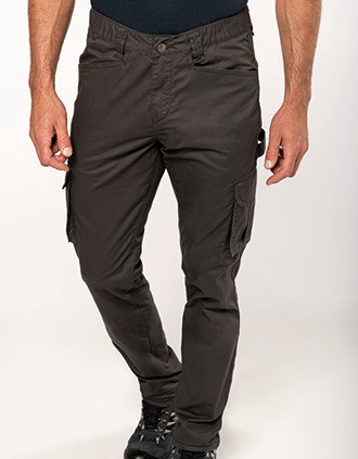 Men's eco-friendly multipocket trousers